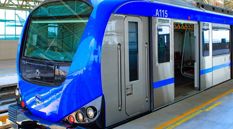 Chennai Metro Train Fare Free Today