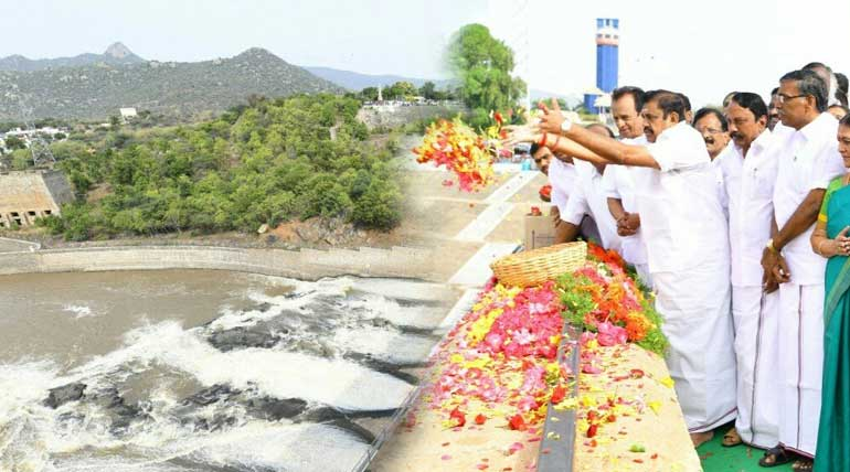 Mettur Dam: Tamil Nadu CM Released the Water to the Delta Region and Dam touches 101 feet for the 65th time