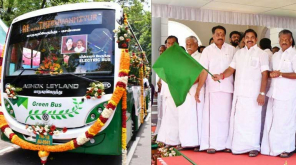 Electric Green Bus in Chennai