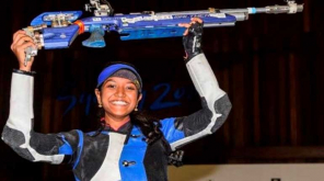 Elavenil Valarivan Wins Gold in 10m Air Rifle ISSF world cup 2019