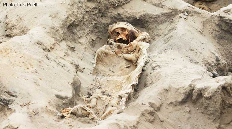 Victims of disease or sacrifice-Experts raise doubts about 227 children buried in Peru