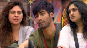 Bigg Boss Tamil Contestant Vanitha, Sherin and Tharshan