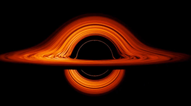 NASA breathtaking black hole visualization proves scientific ingenuity. Photo Nasa