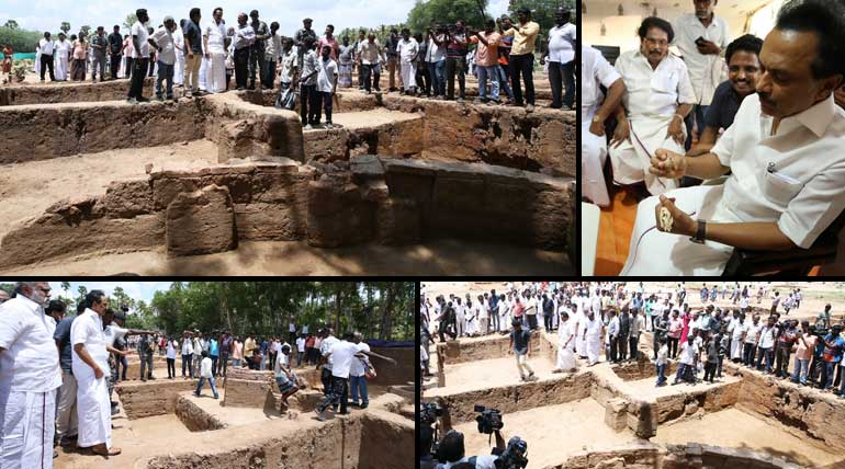 Political Storm in Keeladi Excavation: Indian history starting from Tamil Nadu