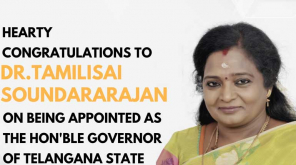 Dr Tamilisai Soundararajan Made Governor of Telangana