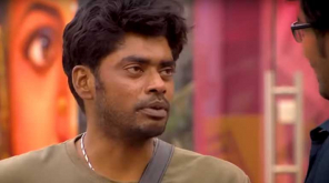 Sandy cries and begs Kavin to not go out of bigg boss 3 Tamil house