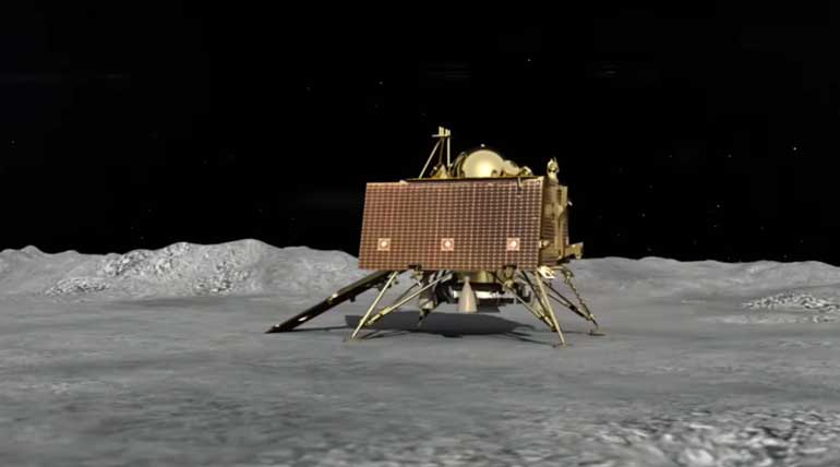 Chandrayaan-2 Vikram Successfully Landed on Southern Pole of the Moon