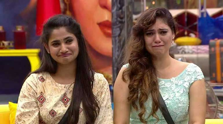 Bigg Boss Tamil 3 Contestant Losliya and Sherin