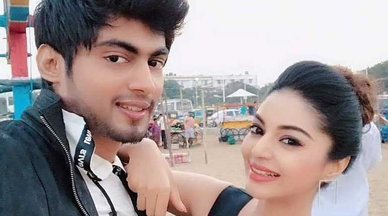 Bigg Boss 3 Tamil Tharshan Girl Friend Sanam Shetty Voiced Out Shedding Tears