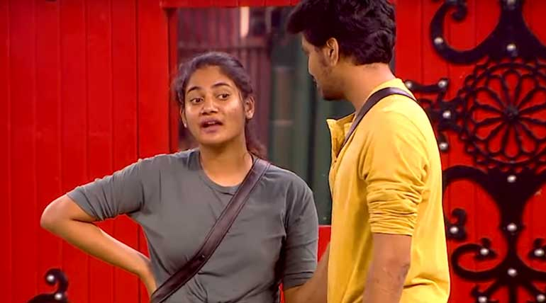 Bigg Boss Tamil Sherin Fight with Kavin for consoling Losliya