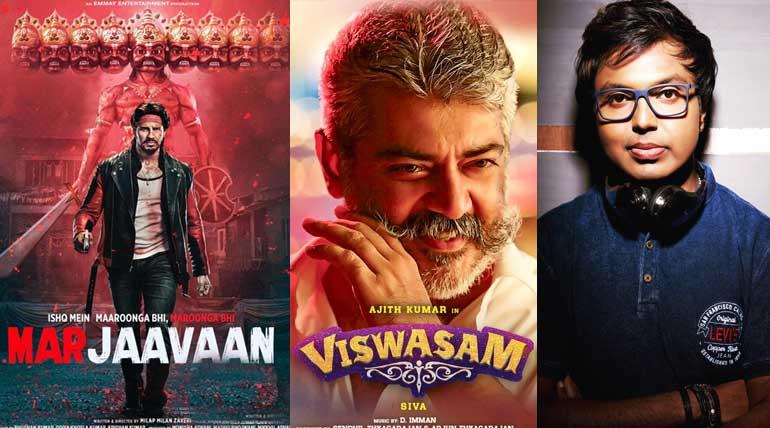 Marjaavaan Bollywood movie copies Viswasam BGM