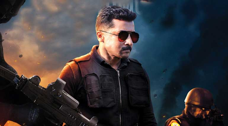 TamilRockers Leaked Kaappaan Full Movie Online. Kaappaan Movie Poster.