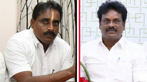 AIADMK Candidates Vikravandi candidate Muthamizhselvan and Nanguneri candidate Narayanan