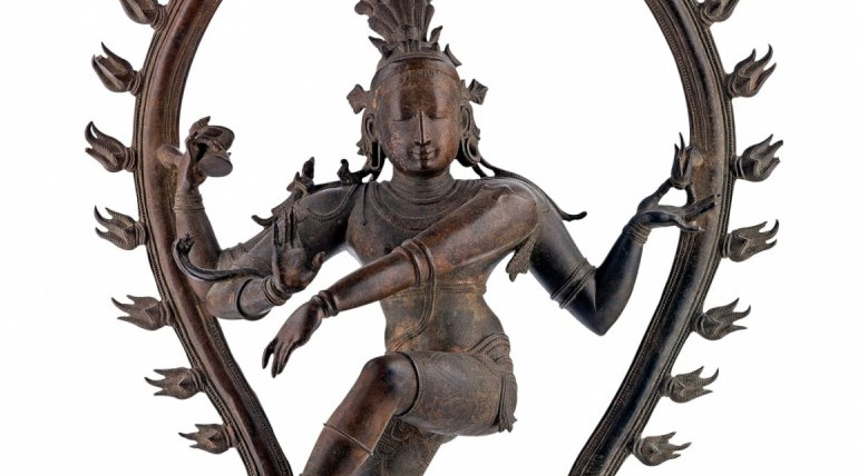 Natarajar Idol The Antique Found in Australia After 37 Years. Photo: AGSA