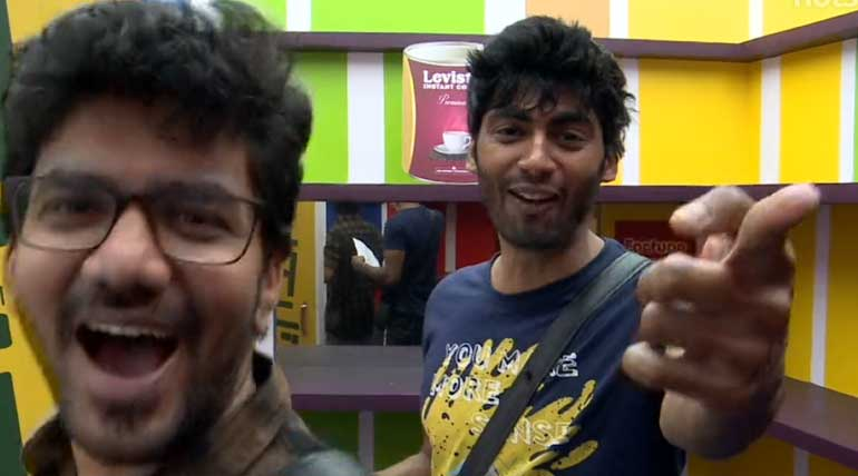 Chilly nomination became silly in funny Bigg boss 3 Tamil show