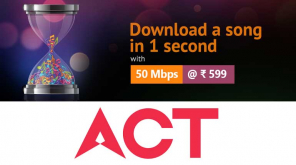 ACT Fibernet offers Basic Speed from 50 Mbps with 200GB data in Tamil Nadu