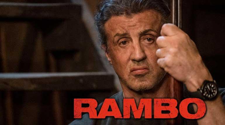 Tamilrockers leaked Rambo Last Blood, Movie Poster.
