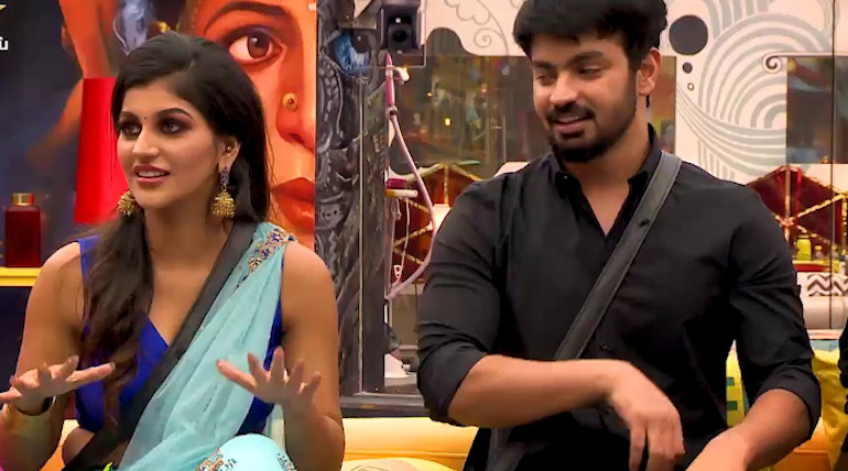 Mahat and Yashika in big boss 3 house to make the last days more entertaining