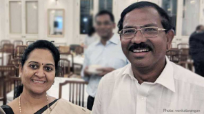 Minister Pandiarajan praised by a girl who studied with his scholarship 1999