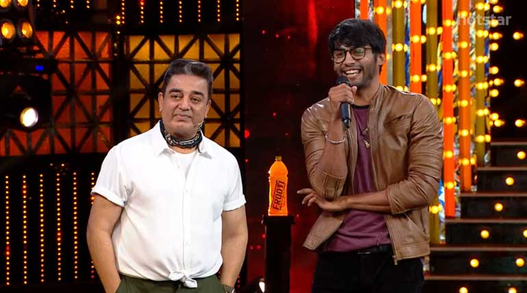 Big boss 3 Tamil show loses its king Tharshan yesterday amid tears
