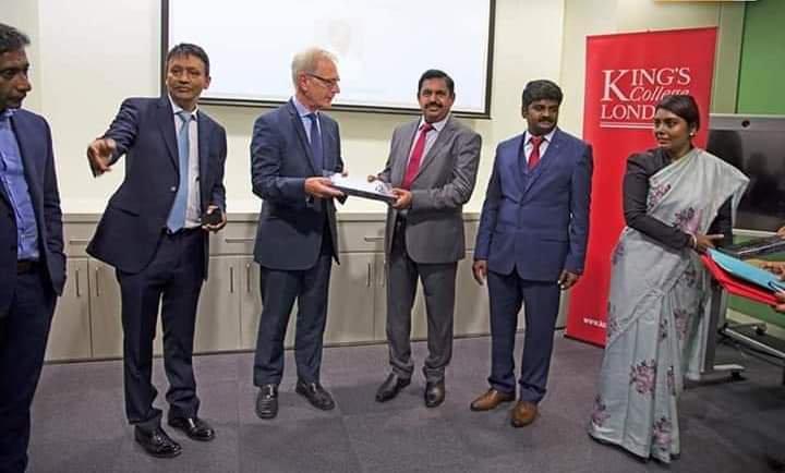 CM in Kings College London