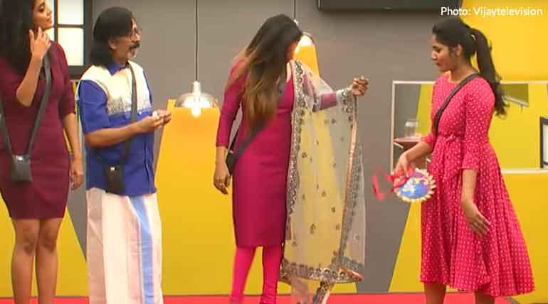 Bigg Boss 3 Tamil: Chameleon Title Award Given to Losliya
