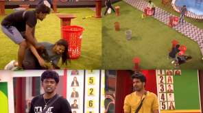 Bigg Boss 3 Tamil Kavin stands for Losliya against Sandy master