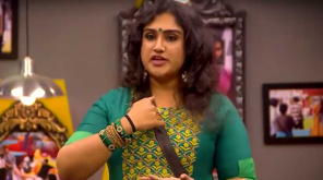 Vanitha Vijayakumar Breaks the Calm in the House