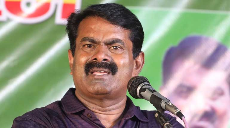 Lawsuit Against Naam Tamilar Katchi Seeman in Vikravandi
