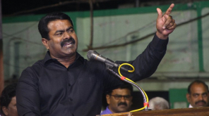 Seeman at Nanguneri and his thoughts about the Revolution of Tamil Legends. Image courtesy:Naamtamilar.org
