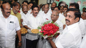 CM Edappadi K. Palaniswami Thanked Vikravandi and Naguneri Voters for Victory