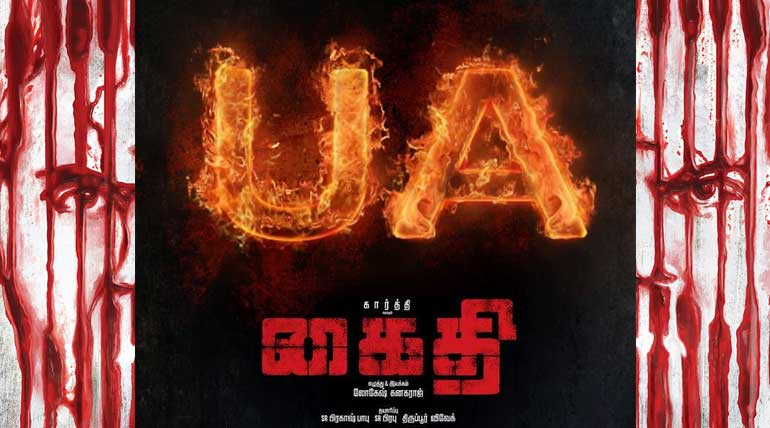 Kaithi Movie Clears U/A Certificate and Release Confirmed for Diwali