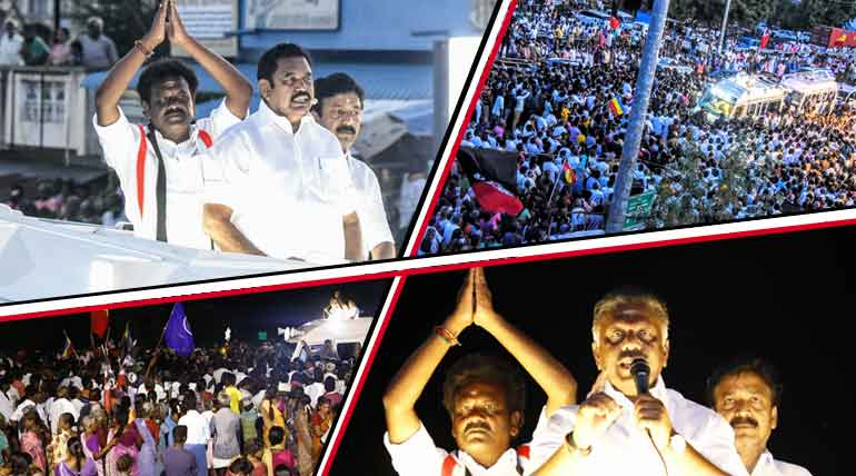 AIADMK may win one of the two by-elections in Nanguneri and Vikravandi