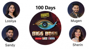 100th day of Bigg Boss Tamil 3 house