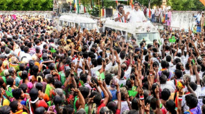 CM Edappadi Palaniswami aggressively campaigned in Vikravandi and accused DMK