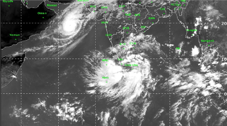 Another Possible Cycle Is about to trace the route of Kyarr Cyclone