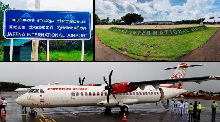 Air India Flight to Jaffna (Palaly Airport) After 36 years from Chennai Airport