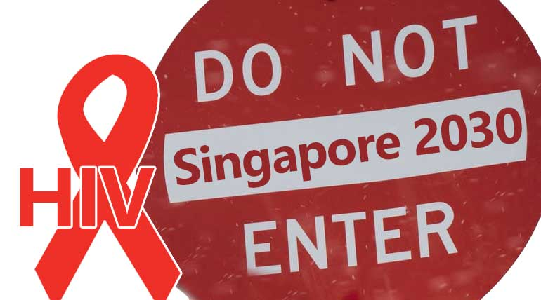 Singapore to be AIDS free by 2030 by a community blueprint to end HIV transmission