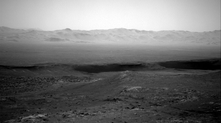 Curiosity Rover posted Gale Crater