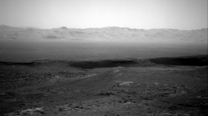 Curiosity Rover posted Gale Crater's Breathtaking Images From Mars
