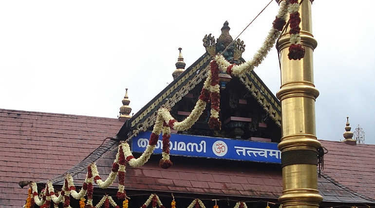 Annual Pilgrimage Begins in Sabarimala and Five Women Were Sent Back