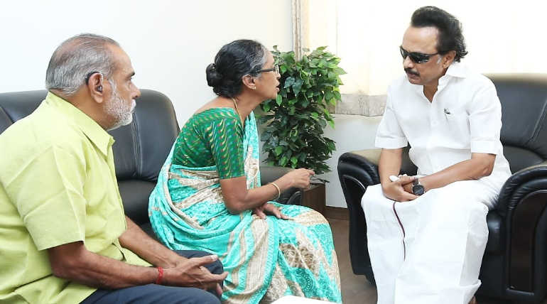 M.K. Stalin Accuses the Chief Minister of Coimbatore Flagpole Accident