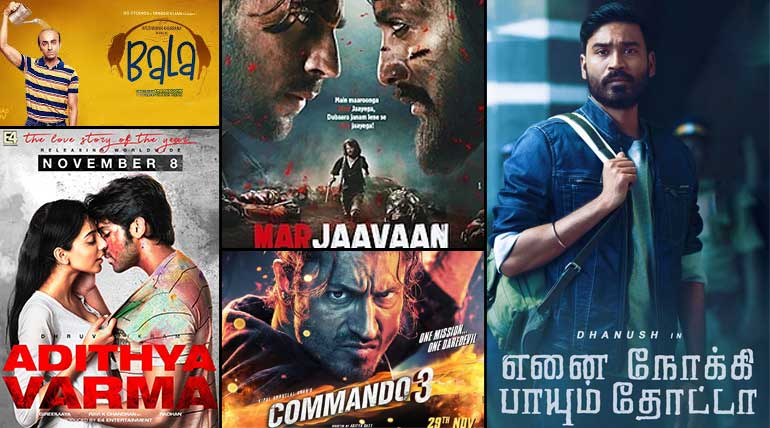 Movies Releasing in November 2019 from Hindi, Tamil and English Languages