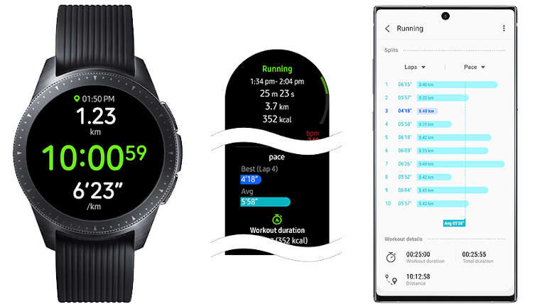 Galaxy Watch and Watch Active Updated to Use Features of Galaxy Watch Active 2