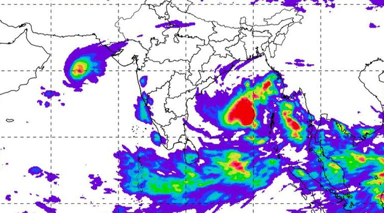 Cyclone Bulbul will hit Bangladesh and West Bengal in the Next 24 Hours