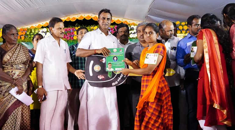 Minister S. P. Velumani in Coimbatore: Welfare Measures and Local Body Polls