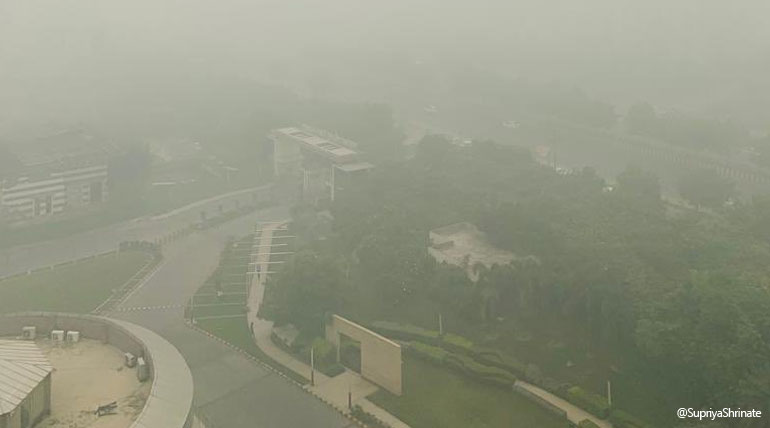 Delhi is Still Gasping in Air Pollution while Ministers Suggesting Carrot and Music