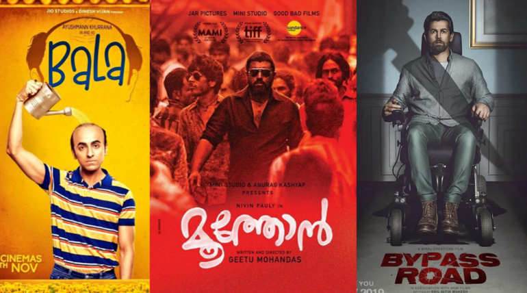 November 2019 Movies Box Office Collection: Bala, ByPass Road and Moothon
