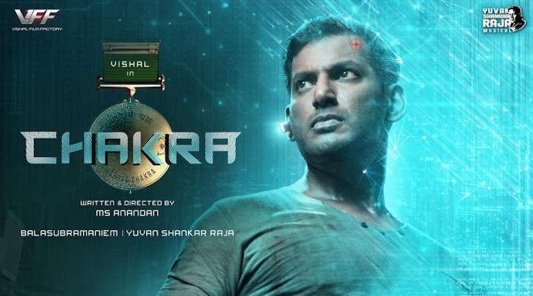 Vishal Next Movie Titled as Chakra
