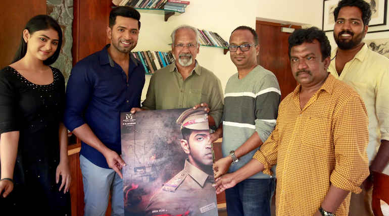 Arun Vijay Starring Sinam First Look Released By Director Mani Rathnam